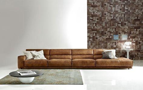 Divani Frau Vintage.Sofa Cuero Vintage Disponible En Komoda Decoracion