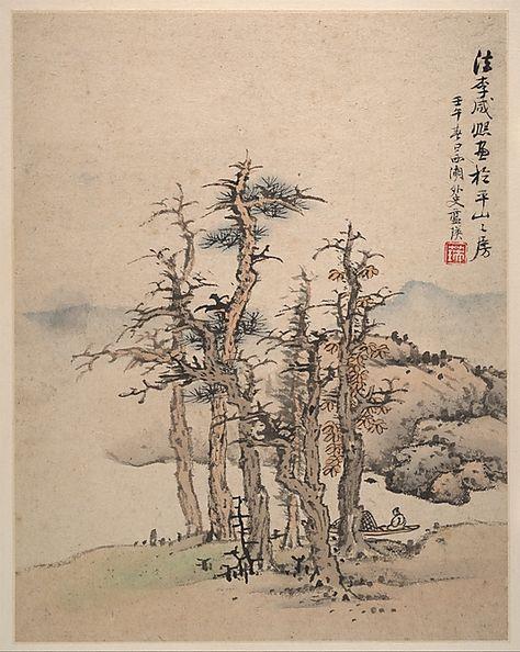 30x60 cm SHANGHAIXIAOTONG chinesischen Stil Landschaft gr/ünpflanzen leinwand dekorative malerei Shop Schlafzimmer Wohnzimmer wandkunst massivholz rollbilder wei/ß