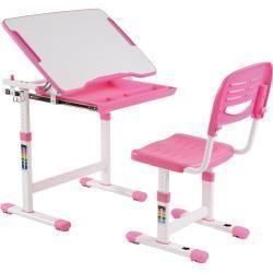 Kinderschreibtisch Set Alumno Hohenverstellbar Inklusive Stuhl Pink Rosa Idimexidimex Kinderschreibt In 2020 Kids Furniture Desk And Chair Set Bedroom Furniture Sets