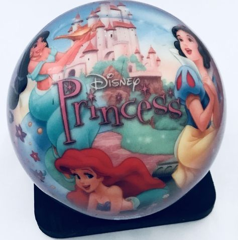 Brunswick Disney Princesses Bowling Ball Not Drilled With Bag 7 Lbs Bowling Ball Bowling Disney Princess