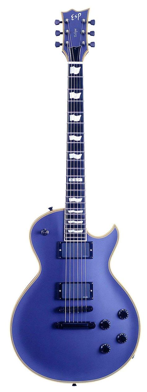 Great looking ESP Standard Series Eclipse EC-1 #Guitar Custom in Vintage Purple... but looks more like blue to me. http://ozmusicreviews.com/christmas-gifts-for-guitarists