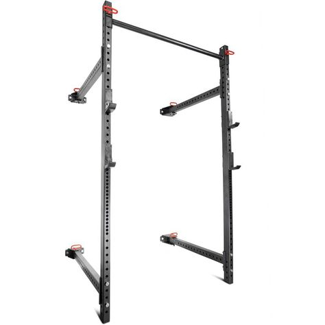 T 3 Series Short Folding Power Rack 41 Depth V2 In 2020 Power Rack Squat Rack Folding Walls