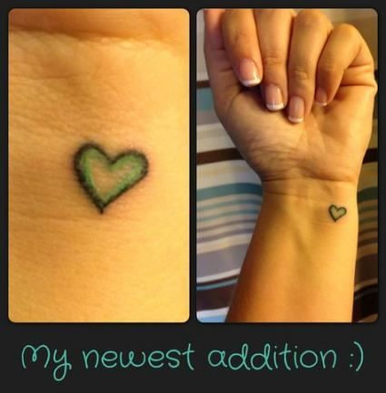 64 Trendy Tattoo Small Arrow Beauty Photos Small Tattoos Purple Heart Tattoos Small Heart Tattoos
