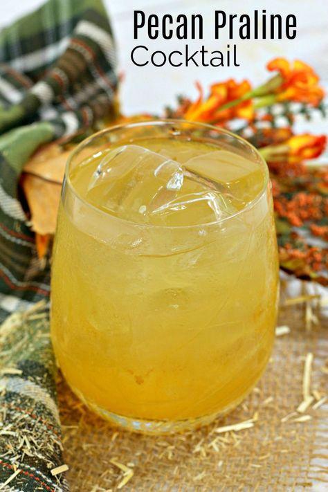 Bourbon Pecan Praline Cocktail Recipe