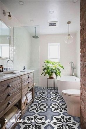 15 Decor And Design Ideas For Small Bathrooms 1 Mit Bildern