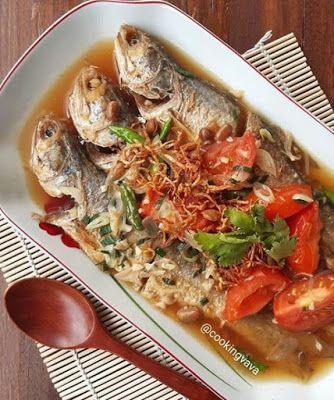 Ikan Senangin Masak Tausi Resep Makanan Cina Resep Masakan Indonesia Resep Masakan