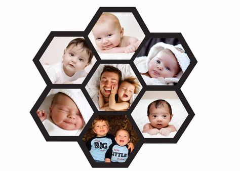 Personalized 7 Pic Collage Frame Frames