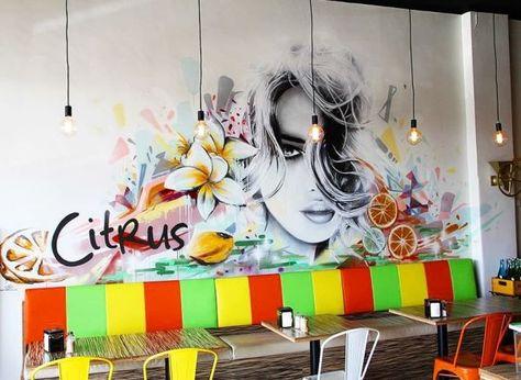 Murals - Citrus mural
