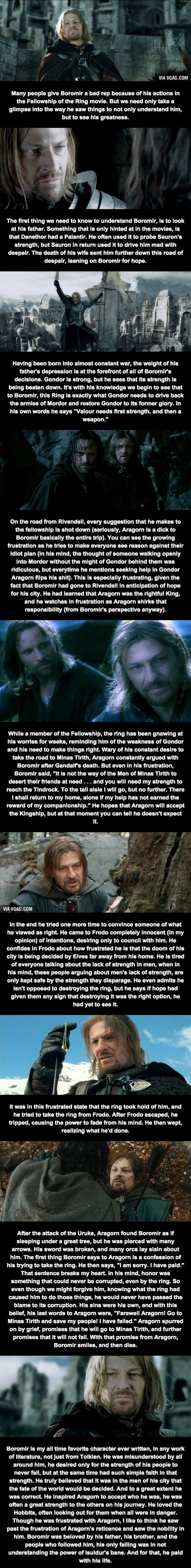 Relatively Unknown LoTR Facts (Part 2) - Boromir