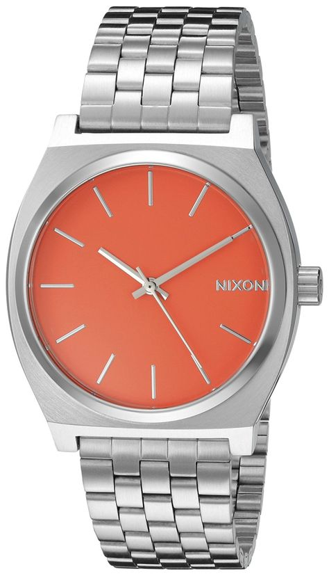 Nixon Women's A0452054 Time Teller Stainless Steel Bracelet Watch -- Click image to review more details.
