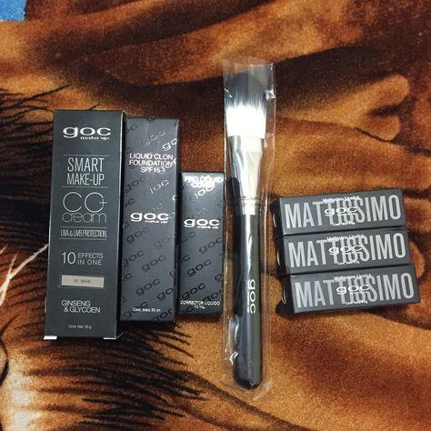 Compras de Goc Make up