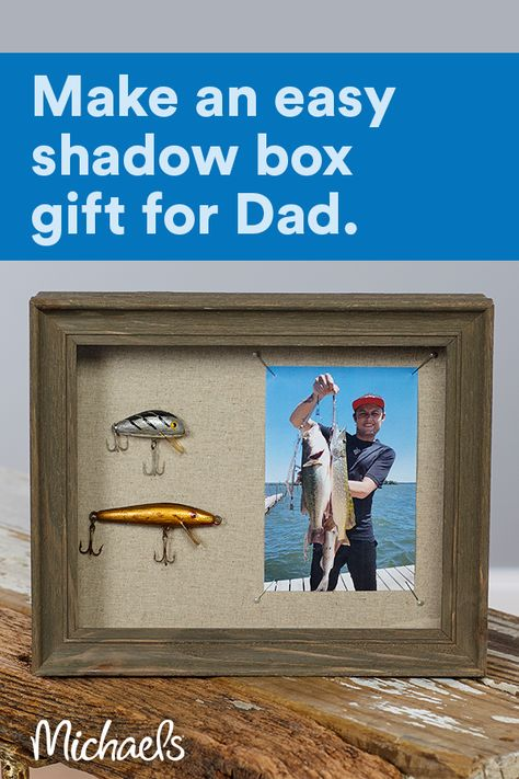 Father's Day Shadow Box