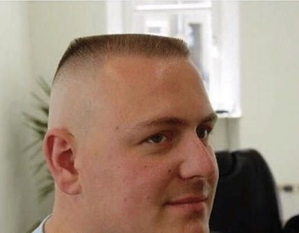You Have A 100 Chance Of Getting A Ticket If You Get Pulled Over By A Cop With This Haircut Military Haircut Flat Top Haircut Haircuts For Men