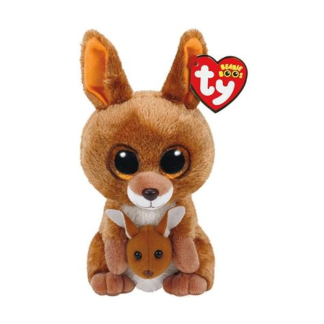Solid Eye Color 6 inch MWMT TY Beanie Boos COOKIE the Brown Dog with Heart