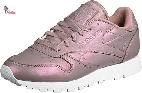 san francisco special sales good Reebok CL Leather Pearlized W chaussures 9,0 rose gold/white ...