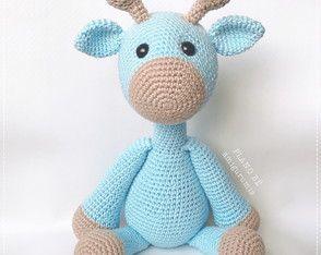 Belas Artes Crochê e Cia: Girafa Amigurumi - Receita | 234x294
