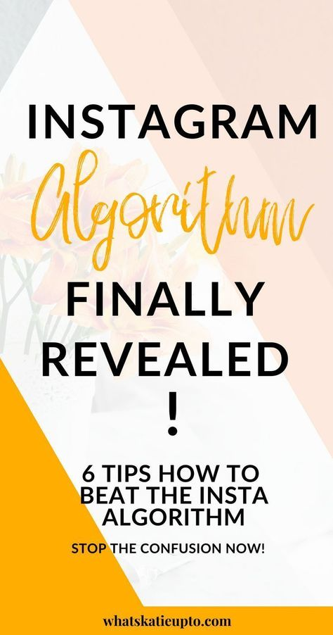 6 tips how to beat the Instagram Algorithm!