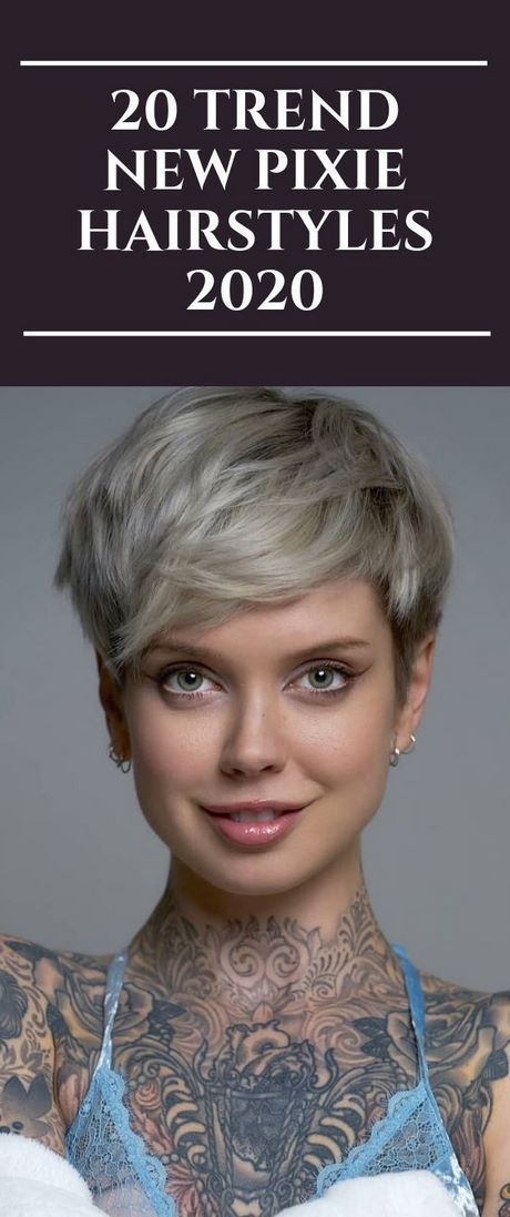 Pixie Haircuts For 2020 Pixie Hairstyles Short Hair Trends Pixie Hairstyles 2020