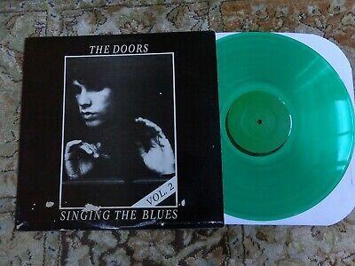 The Doors Singing The Blues Vol 2 Pressed On Green Vinyl Thedoors Vinyl Lp Album In 2020 Vinyl Singing Blues