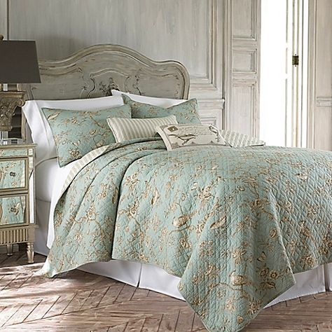 Levtex Home Layn Reversible King Quilt Set In Teal With Images