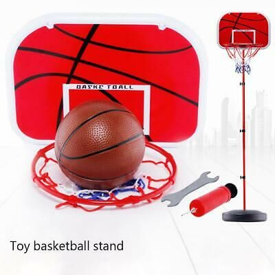 Advertisement Ebay 1 7m Toy Basketball Hoop Stand Ball Rack Set System W Adjustable Height Net In 2020 Portable Basketball Hoop Adjustable Basketball Hoop Basketball
