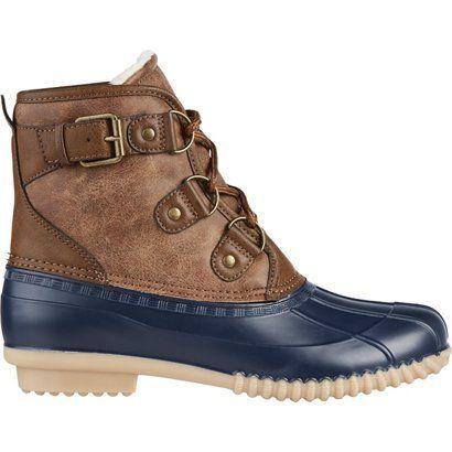 Duck boots, Winter boots women