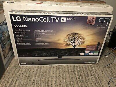 Lg 55sm8600pua Nano 8 Series 55 4k Ultra Hd Hdr In 2020 Ultra Hd Tvs Flatscreen Tv