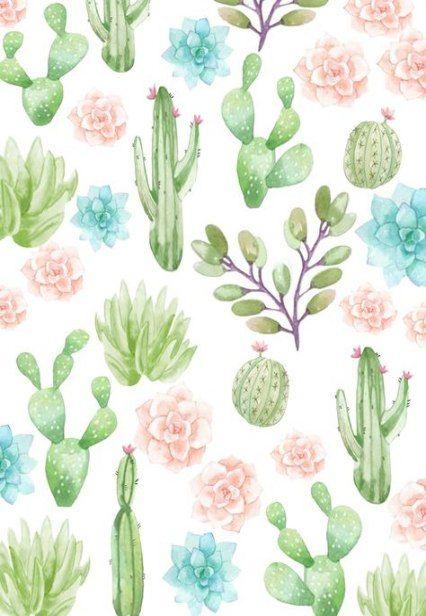 29 Trendy Cactus Wallpaper Iphone Backgrounds Art Prints Iphone Background Art Succulents Wallpaper Cactus Backgrounds