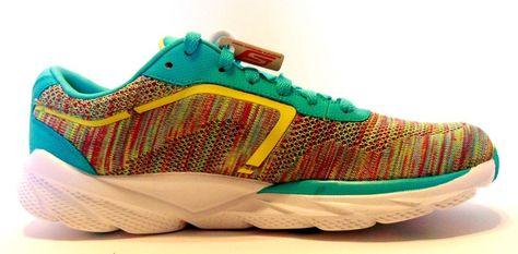Skechers Go Run Bolt Running Women Aqua/Multicolor 13908-AQMT