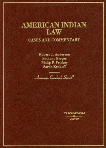 Download Pdf American Indian Law Cases And Commentary American
