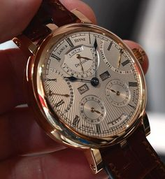 Independent watch brand Lang und Heyne of Dresden, Germany named their latest wa. Independent watch brand Lang und Heyne of Dresden, Germany named their latest watch after Augustus, which carr