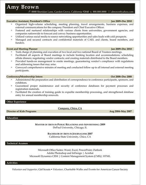 Vice President \/ General Manager Resume (Sample) Resume Samples - vmware resume