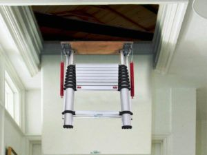 Pull Down Attic Stairs For Small Openings Attic Ladder Attic Stairs Pull Down Attic Renovation