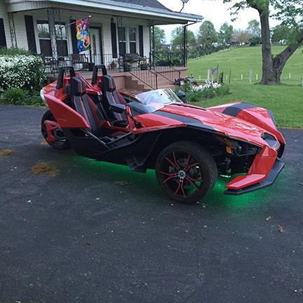 Tricled Led S Installed Polaris Slingshot Slingshot Car Slingshot