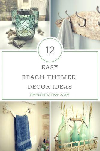 12 Beach Themed Rv Decor Ideas Beach Cottage Decor Beach