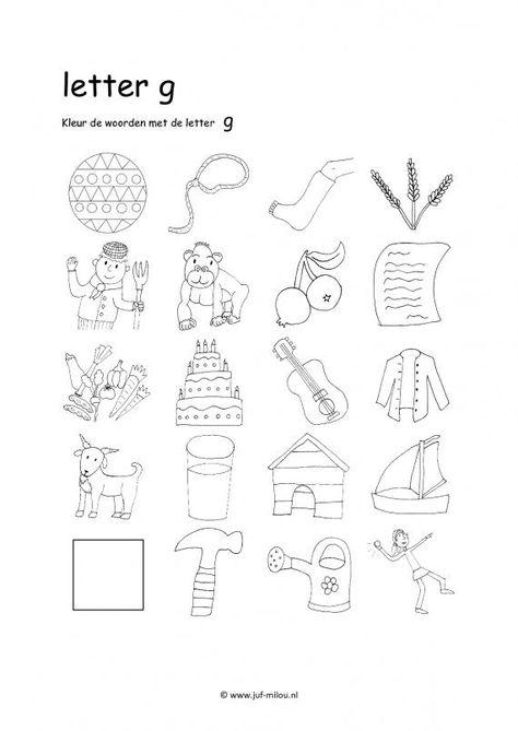 Werkbladen en kleurplaten on Pinterest   Hidden Pictures, Color By Numbers and Puzzles