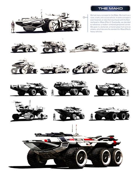 """Mako from BioWare's """"Mass Effect"""" series - it looks great....until you drive it."""