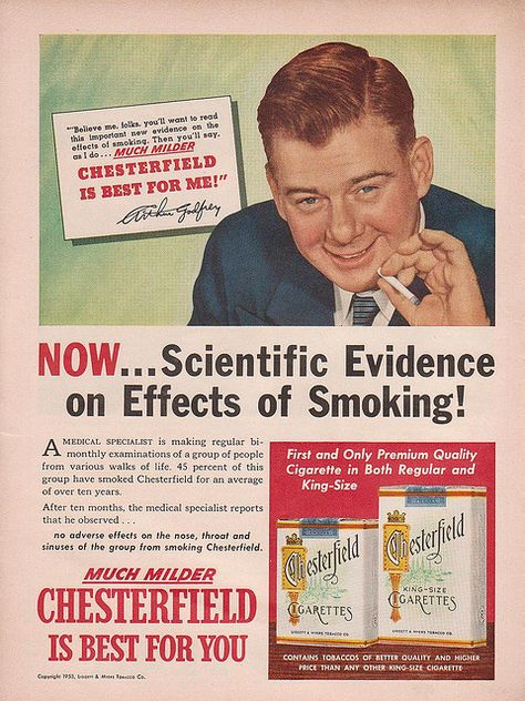 Chesterfield Cigarettes | Flickr - Photo Sharing!