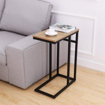 156c8 Homemaxs Stolik Kawowy Boczny 27 X 47 Cm Okj Sofa Side Table Industrial Design Furniture Side Table