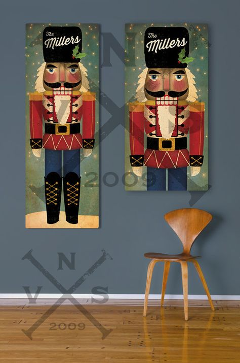 CUSTOM Nutcracker Stretched Canvas Wall Art by nativevermont