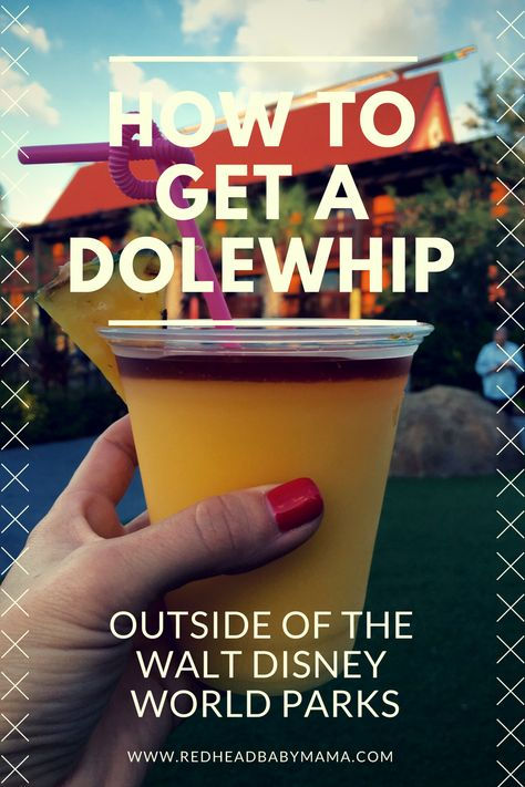 How to Get A Dole Whip Outside of the Disney Parks - Redhead Baby Mama | Atlanta Blogger