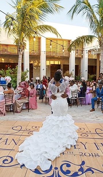 Turks Caicos Weddings The Shore Club Long Bay Beach Beach Wedding Inspiration Popular Wedding Getting Married
