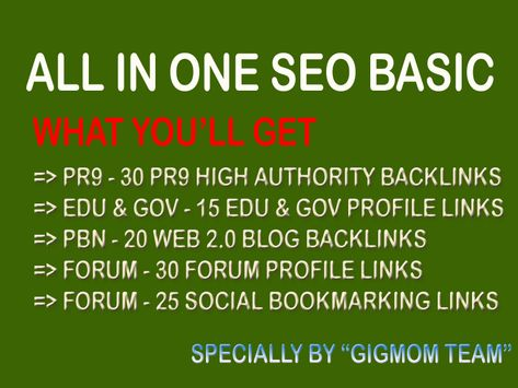 All in One SEO Basic to Boost Search Engine Results for $5