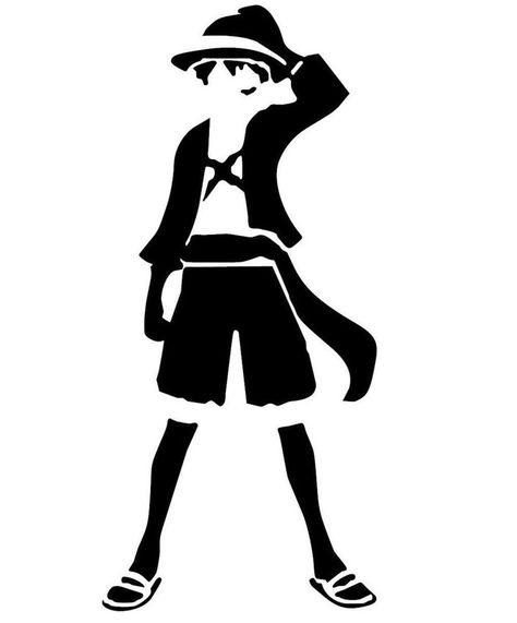 67fc4899554 One Piece -- Monkey D Luffy Anime Decal – KyokoVinyl