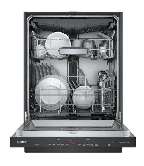 Bosch 500 Dlx Series Dishwasher With Autoair Black Stainless