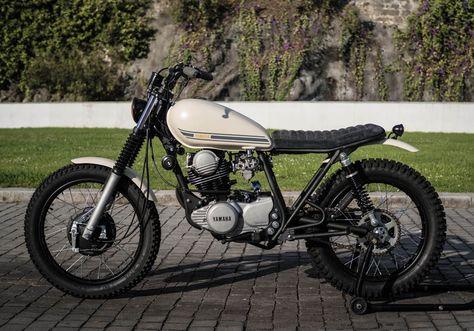 Yamaha SR250 City Tracker by Trintaeum Motorcycles