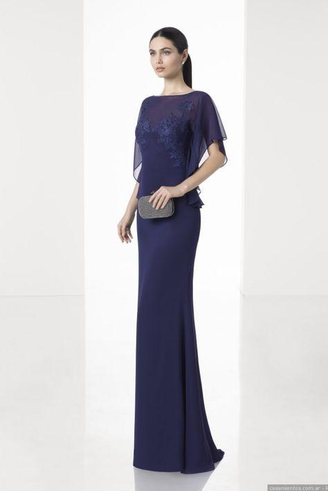 c8f1a94d7 30 vestidos azules para un look de invitada.  argentina  bodas  casamientos