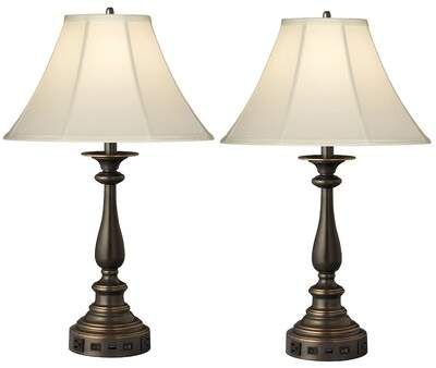Twin Light Double Nightstand Lamp Medallion Lighting Sponsored Sponsored Double Light Twin Table Lamp Sets Table Lamp Lamp