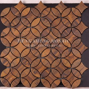 Antique Retro Bronze Metal Copper Tiles Mosaic Tile For High End Hotel Restaurant Wall Decoration Coppermosaic Copper Mosaic Copper Mosaic Tile Copper Tiles