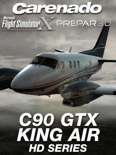 CARENADO : C90 GTX King Air HD Series Special Features Version 1 2